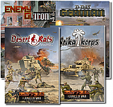 Flames of War Rule books and Army books