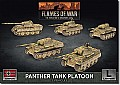 WW2 German Panther A Tank Platoon (plastic)