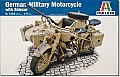 German Millitary motorcycle combination (retooled)