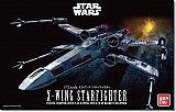 Star wars X Wing Star Fighter 1/72 scale