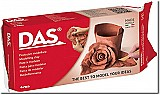 DAS Modeling Clay Block Terra Cotta Color 1kg