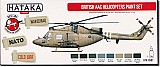 Hataka British AAC Helicopters Acrylic Paint (Red Box)