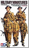 WW2 British infantry on patrol ( 5 Figures )