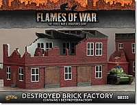 Destroyed Brick Factory