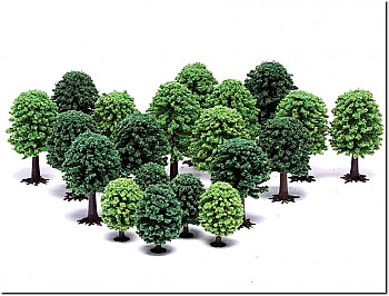 Hornby Mixed Deciduous Trees