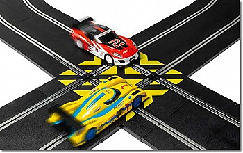SCALEXTRIC Straight Crossover 90'