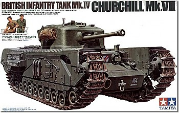 British Churchill Mk.VII Infantry Tank